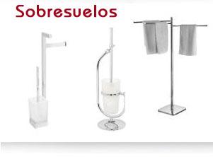 accesorios baños. sobresuelos